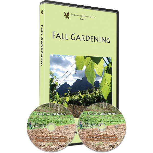 Fall Gardening DVD Set