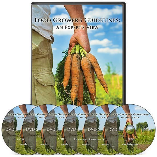 Food Grower's Guidelines DVD Set