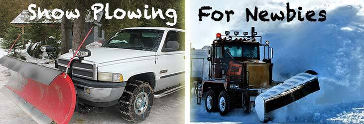 Snow Plowing For Newbies