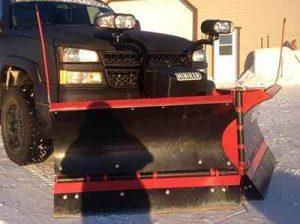 V plow snow plow