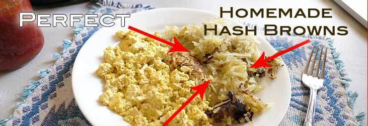 Perfect Homemade Hash Browns