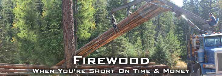 Firewood When You're Short On Time And Money